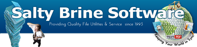 Salty Brine Software - Windows File Utilities